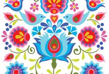 Designs and patterns from around the world / Designs and patterns on material, tiles, buildings and clothes from around the world
