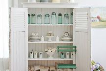 White and Mint Room / by Roxanne Becker