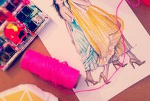 Etch this sketch / Fabulous fashion illustrations