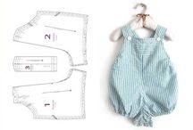 patrón de ropa de bebé