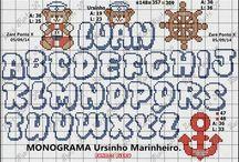 monograma maiusculo