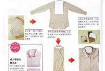 How to folk a t shirt