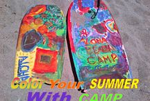 Camp Crafts / Summer Camp Arts and Crafts projects kids love doing at the beach -- and you can even do at home, too! :)
