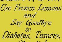 frozen lemons