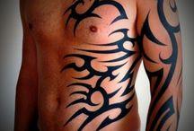 Tribal tattoo extension