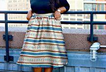Tea Length Midi Skirts