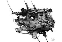 Reference artist Ian McQue