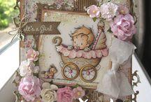 Baby / Babás képeslapok, kreatív ötletek