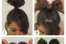 Easy and Quick hair