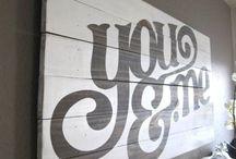 wall art  / by Sylvia Kim