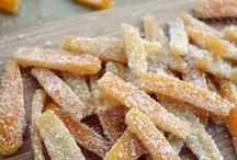 Cascara de naranja cristali