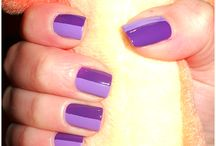 Le mie (piccole) nail art <3