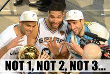 San Antonio Spurs / San Antonio Spurs - Manu Ginobli - Tony Parker - Pop - Tim Duncan - Kawhi Leonard