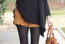 Looks otoño-invierno mujer - botines y falda