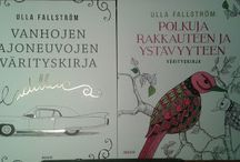 Coloring book / My new books. You can check drawings at tussittaja.webnode.fi