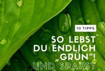 ökologische Tipps