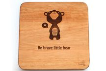 Wooden Wall Art Designs / These wooden wall art pieces are made of treated, solid wood. They are laser engraved and just beautiful, unique and made with love – A perfect addition to any nursery or child's room.
