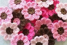 Knitted flowers ♣