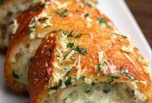 Pão de alho recheado