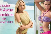 Cutout Monokinis for Summer 2013 / Stylish and Daring Cutout/Cut-away Monokini One-Piece Swimsuits for Summer 2013