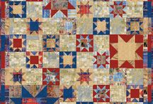 Quilt - Red,Blue