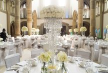 White Wedding / Gorton Monastery, Flowers by Jemma Holmes
