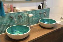Teakea | Keramische design waskommen en wastafels / Keramische design waskommen