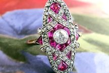Ruby Finds / One of a kind estate, vintage & antique ruby jewelry from Jewelry Finds®!!!