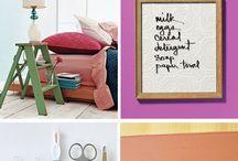 DIY Organizing Hacks / DIY hacks to organize your home, bedroom, office and nick naks :)