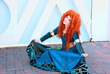 Merida - Brave / Images and costumes from and inspired by characters in the movie Brave. Outfit studies included.