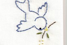 Baby / Embroidery, filt