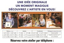 Promotions / Feuillets expliquant nos services offerts / Leaflets explaining the services we offer.