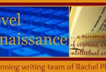 NOVEL RENAISSANCE / Learn to write with Multi-Award-Winning authors Rachel Phifer and Christine Lindsay.