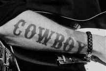 Cowboy Tattoos / For all the Cowboys and Cowgirls who have a little ink!