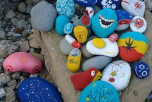 Painted rocks / Rock art 3