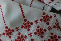 bordado hilos contados