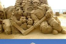 Arte en arena