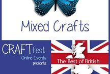 #CRAFTfest - Mixed Crafts Category - Sept 2016 / International sellers with stalls in the Mixed Crafts category of the September #CRAFTfest Event share with us their creations. http://www.craftfest-events.com/uk-events.html and http://www.craftfest-events.com/pride-of-america-form.html