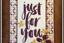 Botanicals for you / Stamp Set Stampin' Up