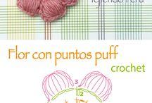 crochet decorative elements