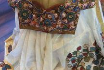 saree patch work