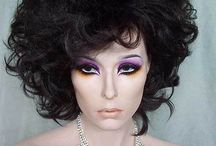 """Our Ebay Store """"Wigs and Jewels"""" Sale Items / Great wigs and rhinestone jewelry, which are overstock. Terrific prices and ready for immediate shipment."""