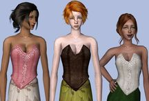 Sims 2 Clothing - Female Top