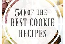 Cookie Recipes / Cookie recipes, Christmas cookies, cookie exchange ideas.  Fill up the cookie jar with lots of yummy recipes.