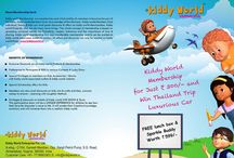 Kiddyworld Membership / Kiddyworld presents exciting offer for lifetime membership at unbelievable price of Rs. 300/-. Get assure gift of FREE Lunch Box & Sparkle Buddy water bottle with every membership and a chance to win Thailand trip for family. Contact Miss Pinal  8980 811 413 for more details.