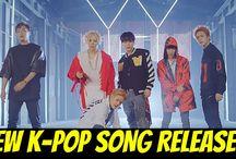 New K-Pop Song Releases