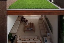 outdoor green roofs
