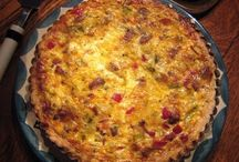QUICHES & SAVORY TARTS / Recipes form The Blog that Ate Manhattan / by Margaret Polaneczky, MD