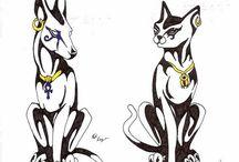 Domestic stylised animals