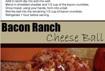 Jalapeno bacon cheese ball